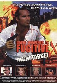 Fugitive X: Innocent Target Poster