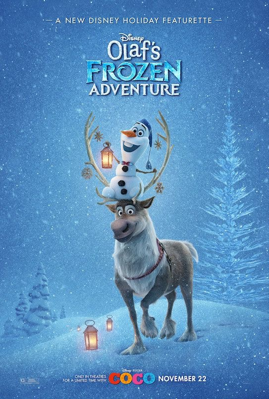 Olaf's Frozen Adventure (2017) WEBRip 720p