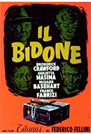 Il Bidone Poster