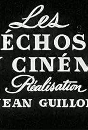 Les échos du cinéma Poster
