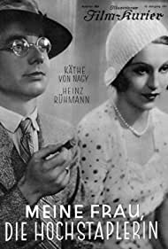 Heinz Rühmann and Käthe von Nagy in Meine Frau, die Hochstaplerin (1931)