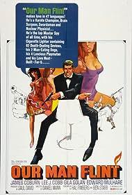 James Coburn, Gila Golan, and Sigrid Valdis in Our Man Flint (1966)