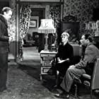 Lex Barker, Zsa Zsa Gabor, and William Schallert in The Girl in the Kremlin (1957)