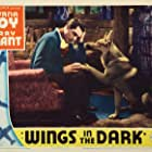 Cary Grant and Lightning in Wings in the Dark (1935)