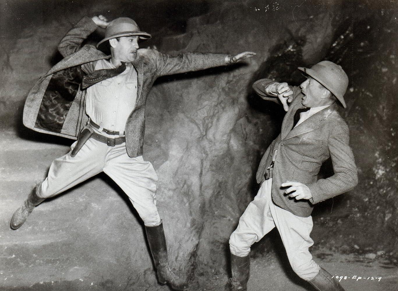 Robert Strange and Harry Worth in Adventures of Captain Marvel (1941)