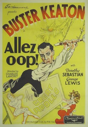 Buster Keaton and Dorothy Sebastian in Allez Oop! (1934)
