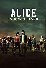 Yûki Morinaga, Tao Tsuchiya, Ayaka Miyoshi, Kento Yamazaki, Keita Machida, and Nijirô Murakami in Alice in Borderland (2020)