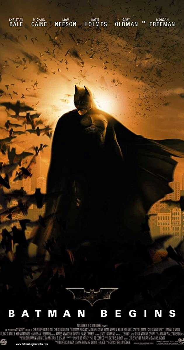 Batman Begins 2005 Imdb