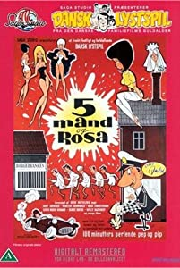 Fem mand og Rosa none