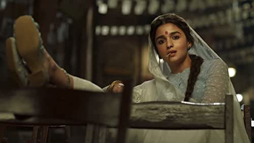 """Gangubai Kathiawadi - A story, based on the book """"Mafia Queens of Mumbai"""" written by  S. Hussain Zaidi, is a film that celebrates the rise of a simple girl from Kathiawad who had no choice but to embrace the ways of destiny and swing it in her favour."""