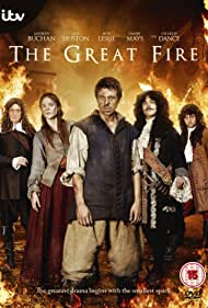 Charles Dance and Rose Leslie in The Great Fire (2014)