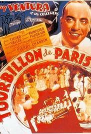 Le tourbillon de Paris Poster