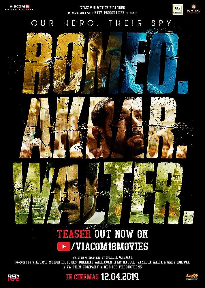 RAW – Romeo Akbar Walter 2019 Hindi Official Trailer 720p HDRip 20MB Download