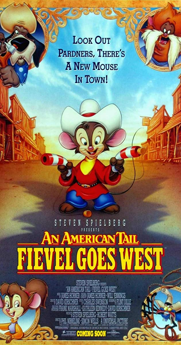 Subtitle of An American Tail: Fievel Goes West