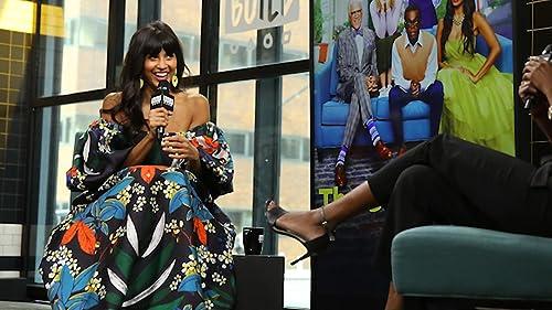 "BUILD: Jameela Jamil Has Ton of Fun Hosting ""The Misery Index"" with Tenderloins"