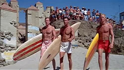 John Milius directs the 1978 coming-of-age surfing film 'Big Wednesday.'