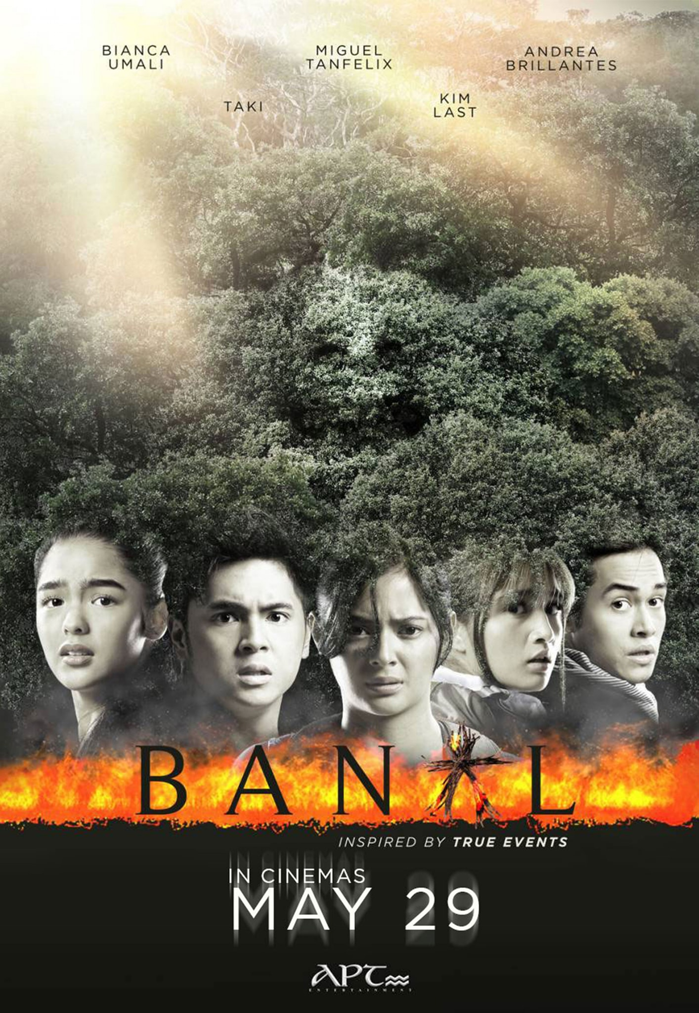 Miguel Tanfelix, Andrea Brillantes, Bianca Umali, Kim Last, and Taki Saito in Banal (2019)