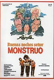 Buenas noches, señor monstruo Poster