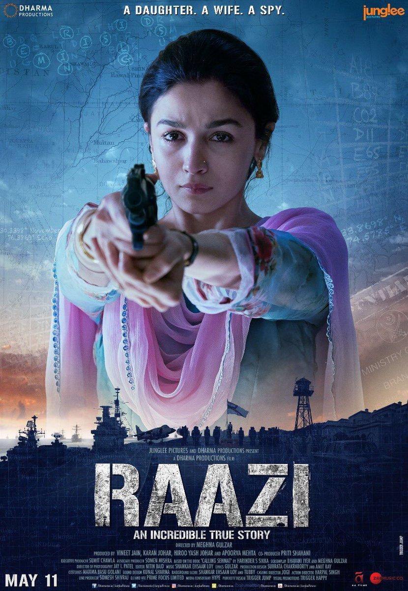 Raazi (2018) Hindi Full Movie by Allia Bhaat
