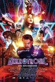Monica Bellucci, Alex Jewson, Tess Haubrich, Caroline Ford, Ben O'Toole, and Epine Bob Savea in Nekrotronic (2018)