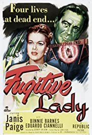 Fugitive Lady Poster