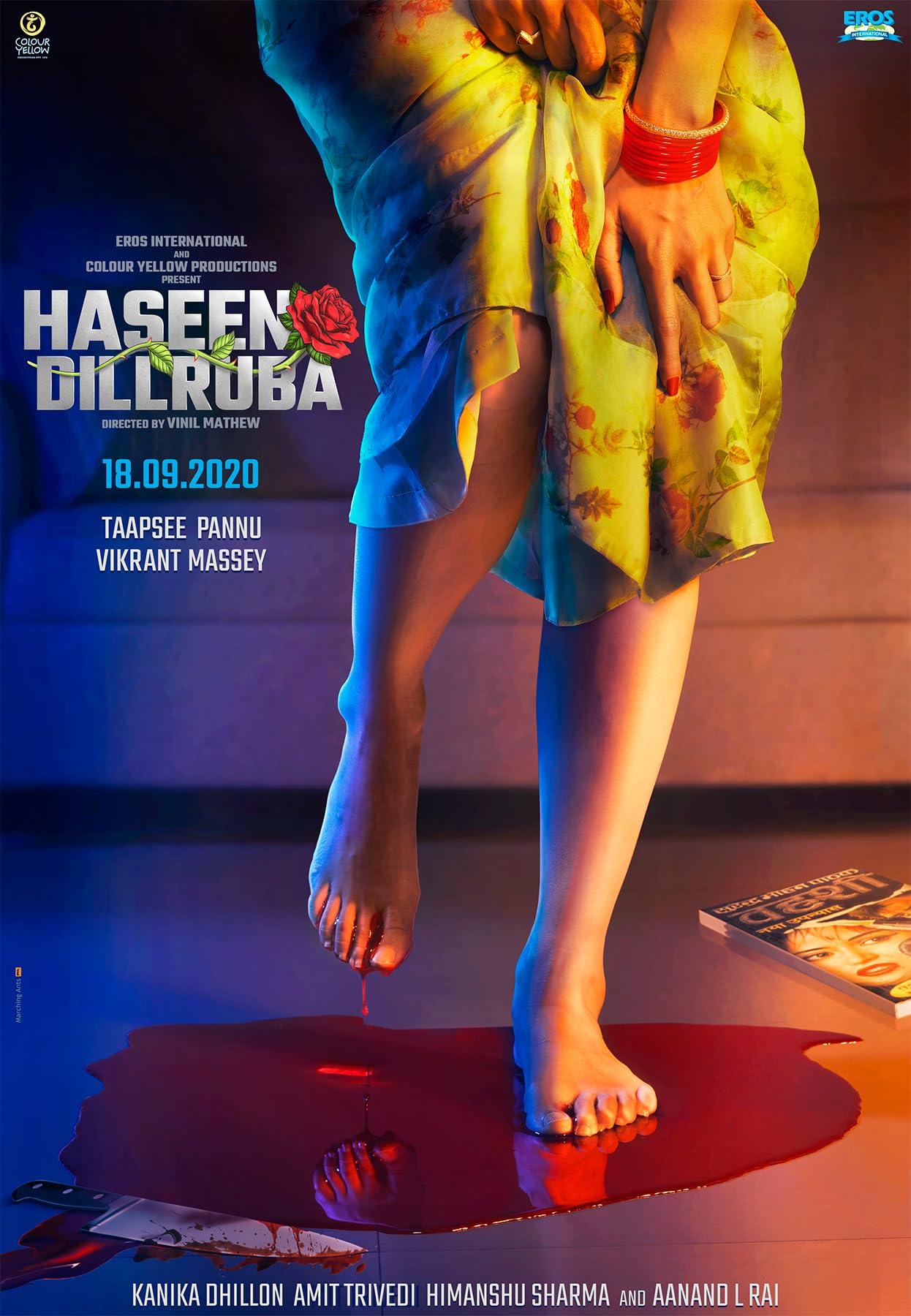 Haseen Dillruba 2021 Hindi Full Movie 720p HDRip 900MB Download