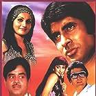 Amitabh Bachchan, Hema Malini, Rishi Kapoor, Reena Roy, and Shatrughan Sinha in Naseeb (1981)