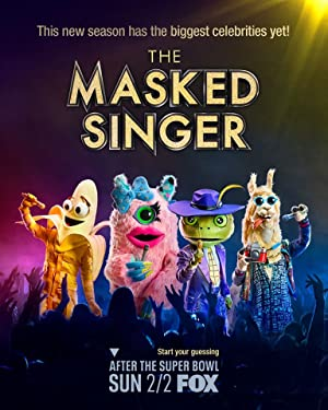 The Masked Singer Box Art