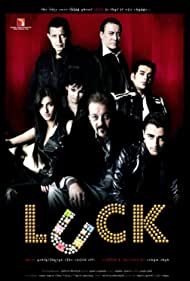 Sanjay Dutt, Mithun Chakraborty, Danny Denzongpa, Ravi Kishan, Imran Khan, Shruti Haasan, and Chitrashi Rawat in Luck (2009)