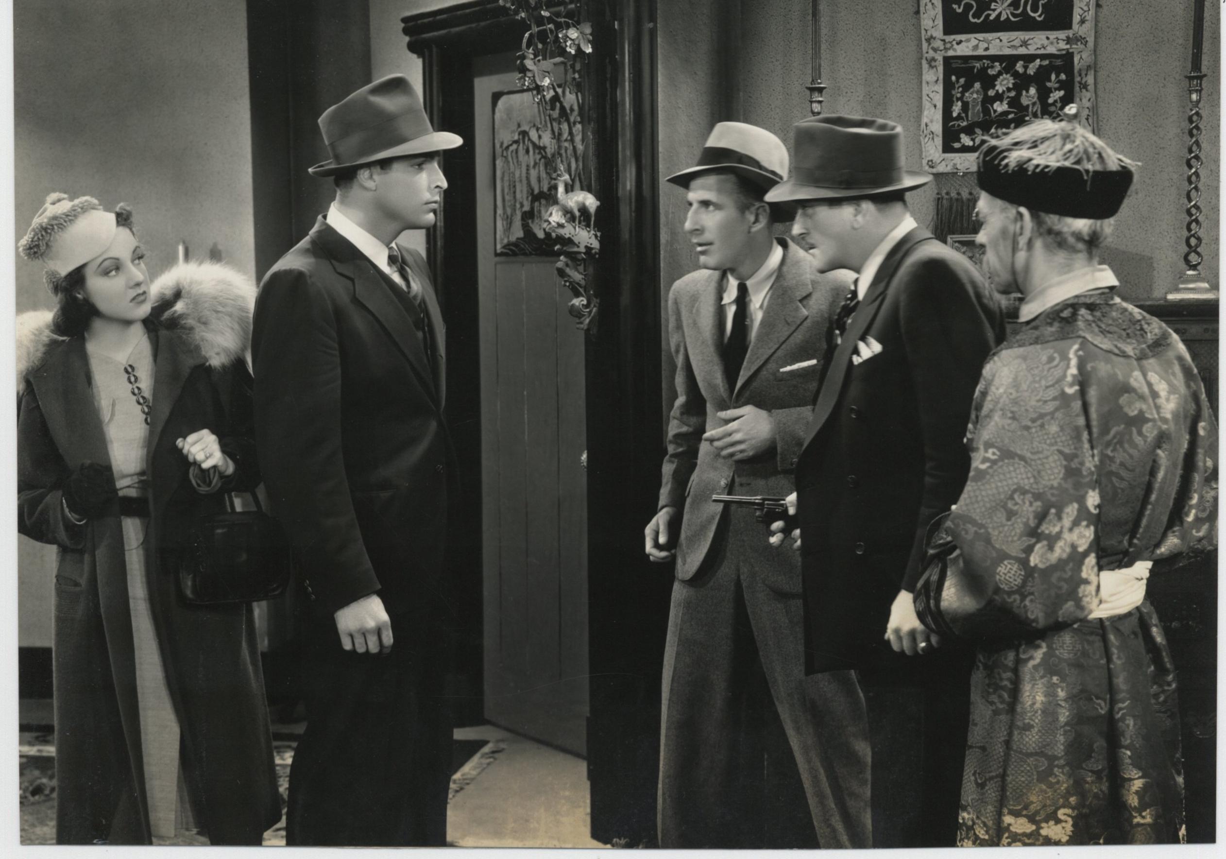 Buster Crabbe, Frank Lackteen, Wheeler Oakman, Edna Sedgewick, and James Sheridan in Red Barry (1938)