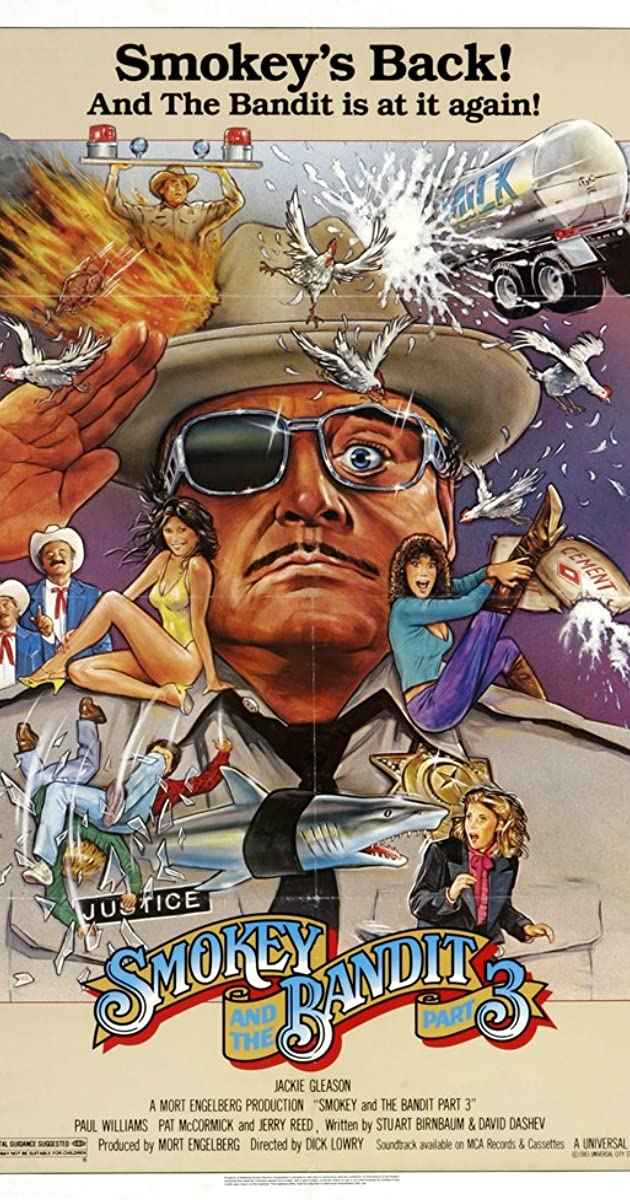 Smokey and the Bandit Part 3 (1983) - IMDb  Smokey and the ...