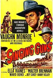 Singing Guns Poster