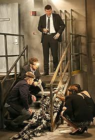David Boreanaz, Emily Deschanel, Tamara Taylor, T.J. Thyne, and Michael Grant Terry in Bones (2005)