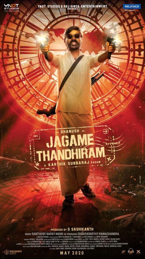 Jagame Thandhiram 2021 Hindi ORG Dual Audio 1080p UNCUT NF HDRip 2.3GB Download