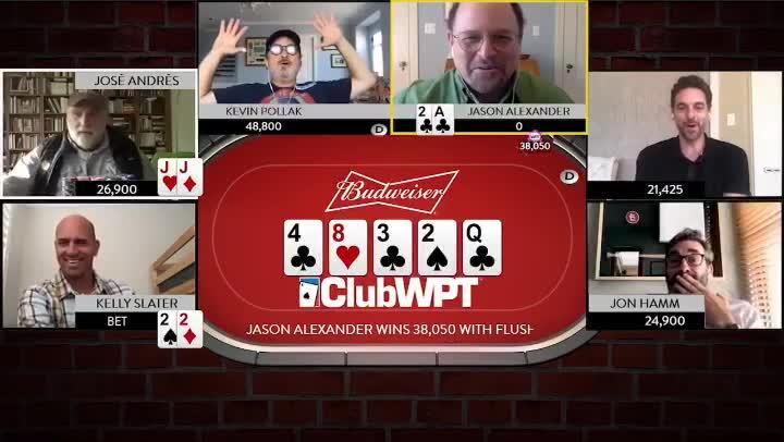 Jason Alexander Celebrity Poker