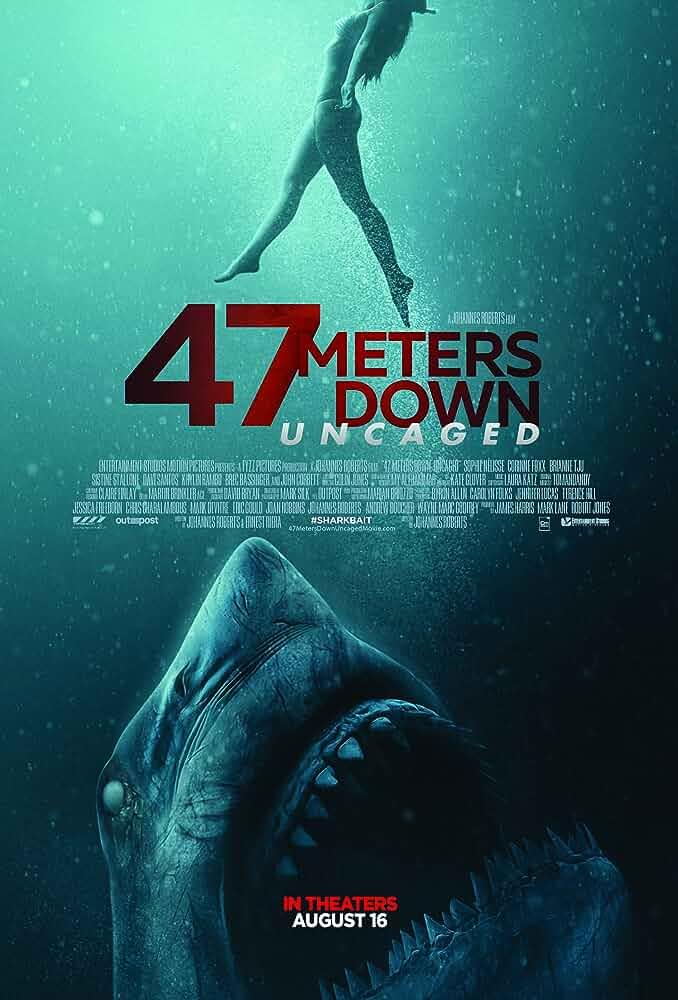 47 Meters Down: Uncaged (2019) in Hindi