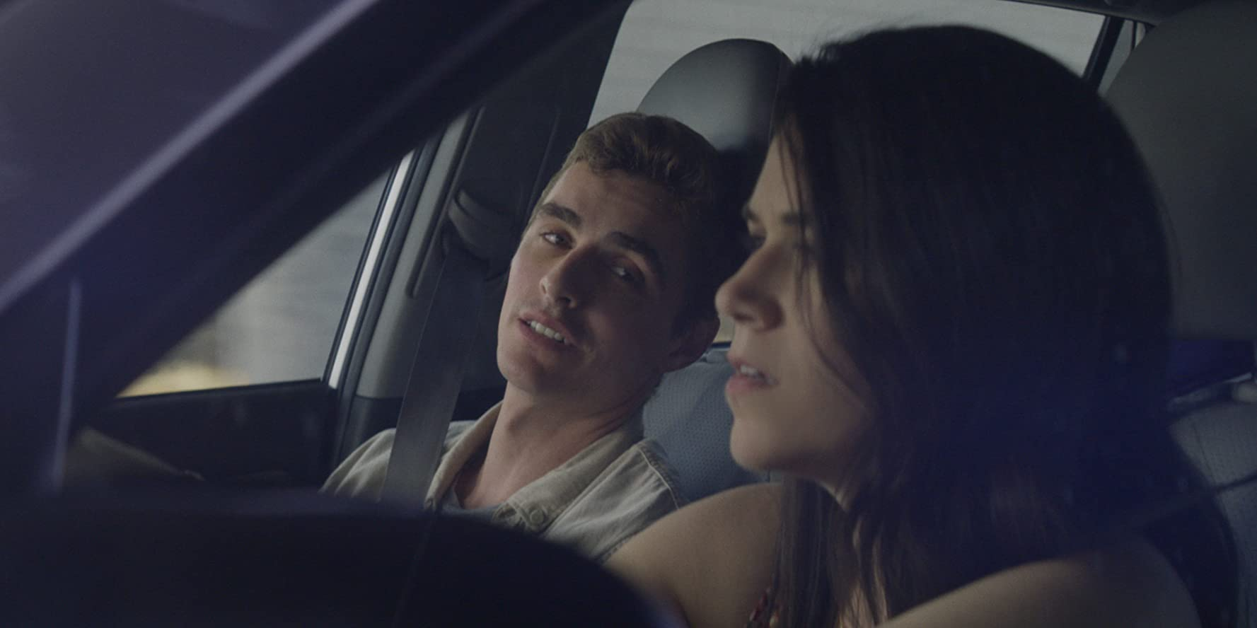 Dave Franco and Abbi Jacobson in 6 Balloons (2018)