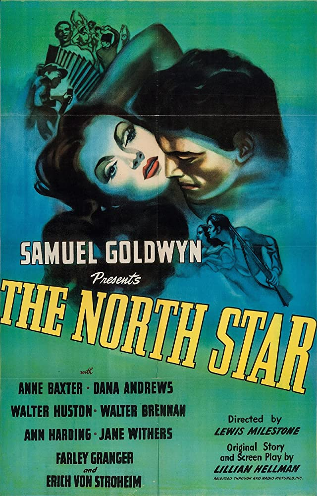 Dana Andrews and Anne Baxter in The North Star (1943)