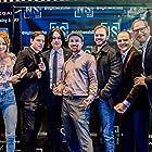 Seth Panman, Jason Abrams, Andrew Lyman-Clarke, Mary Elaine Ramsey, Kyle DeSpiegler, Yaron Urbas, and John Francomacaro at an event for Night Sweats (2019)