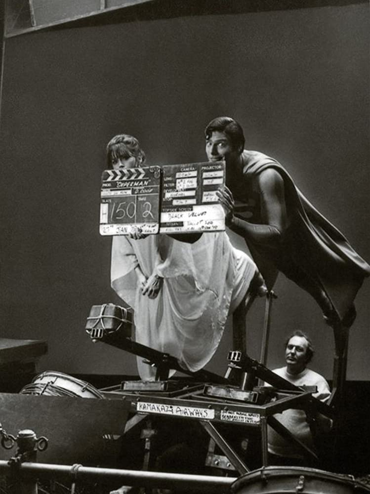Christopher Reeve and Margot Kidder in Superman 1978