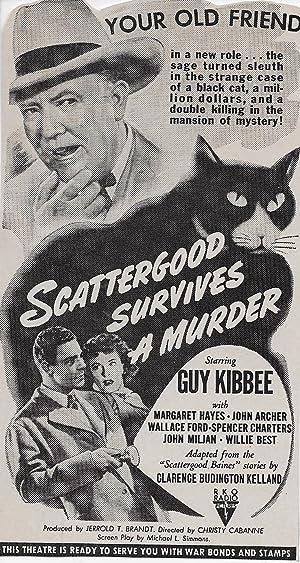 Christy Cabanne Scattergood Survives a Murder Movie