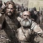 Danila Kozlovskiy and Ziedonis Lochmelis in Viking (2016)
