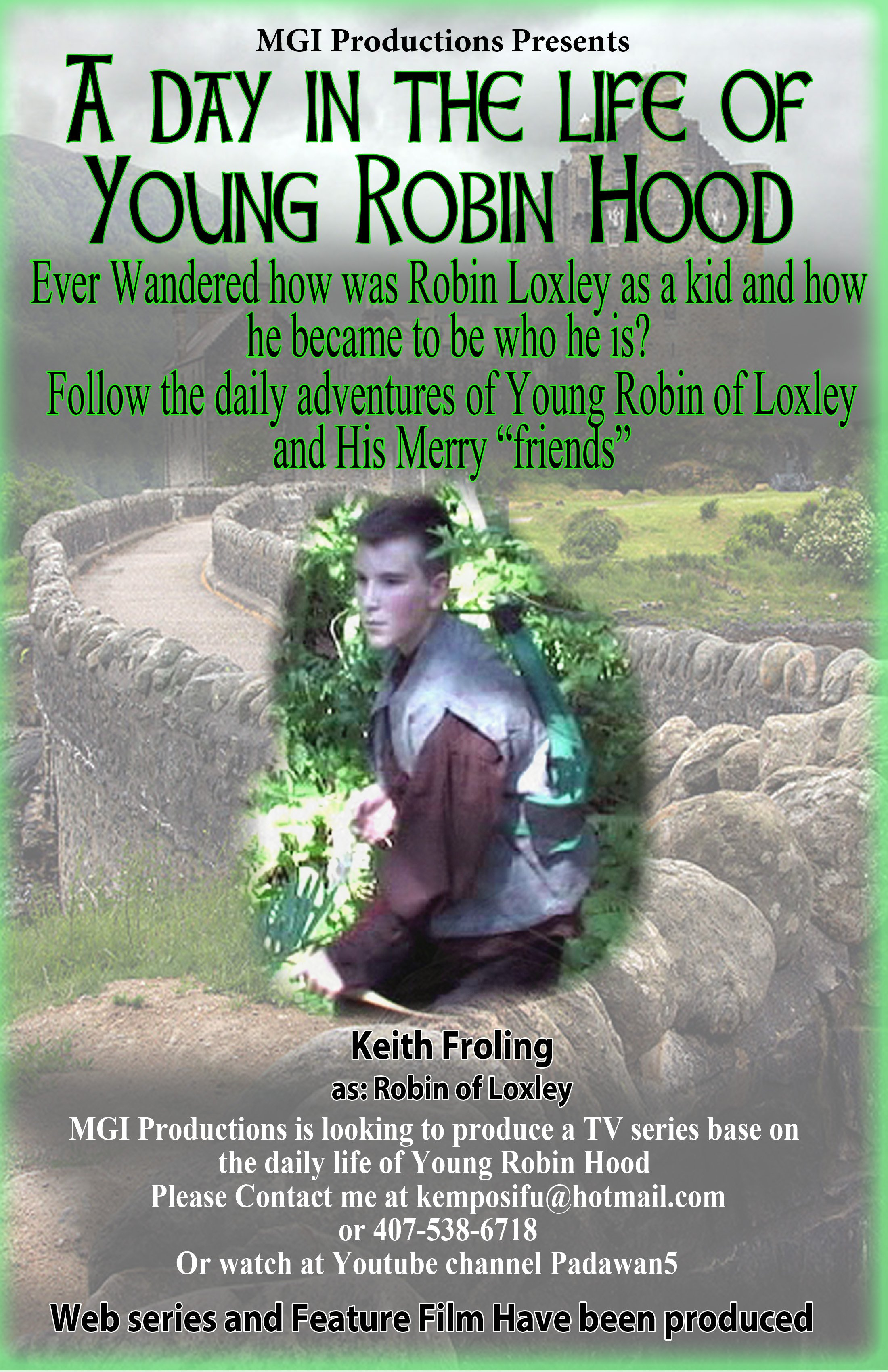 A Day in the Life of Young Robin Hood
