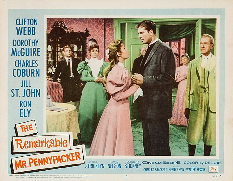 Dorothy McGuire and Clifton Webb in The Remarkable Mr. Pennypacker (1959)