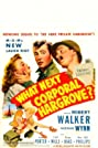 What Next, Corporal Hargrove? (1945) Poster