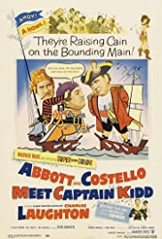 Abbott and Costello Meet Captain Kidd Poster