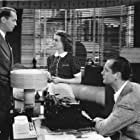 Janet Gaynor, Robert Montgomery, and Franchot Tone in Three Loves Has Nancy (1938)