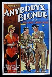 Anybody's Blonde Poster