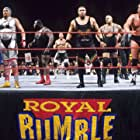 A.C. Connor, Mark Henry, Dwayne Johnson, John Layfield, Marc Mero, Dustin Rhodes, and Charles Wright in Royal Rumble (1998)
