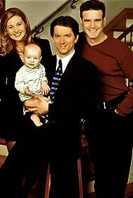 Eddie McClintock, Jon Patrick Walker, and Jennifer Westfeldt in Holding the Baby (1998)